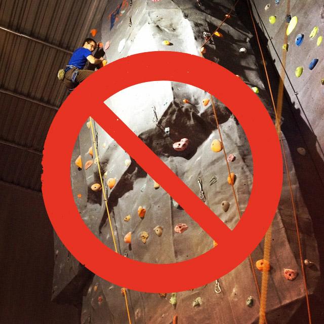 Ingen organisert klatring fra 13. desember til 9. januar