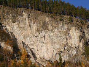 Bratt og vakker klatring i Ål